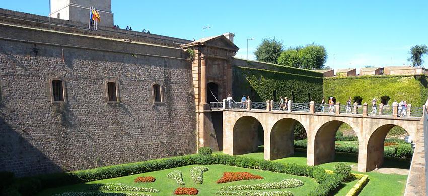 Il Castello di Mont Juic a Barcellona