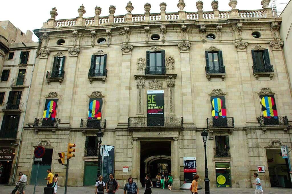 Il Palazzo Virreina a Barcellona