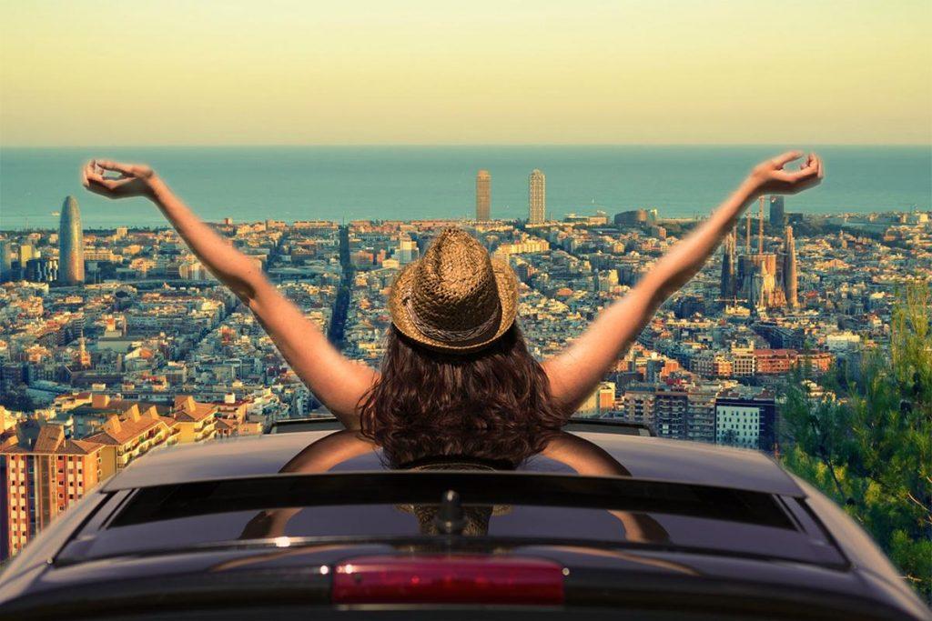 Raggiungere Barcellona in auto dall'Italia