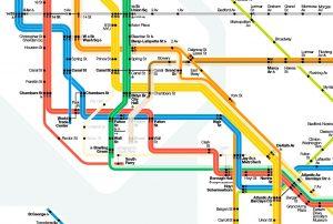 Cartina Geografica Di Londra Da Stampare.Mappe Di New York Destinazione Lavoro