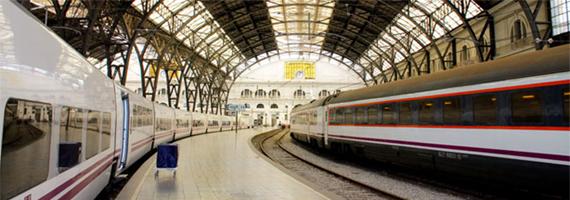 Raggiungere Barcellona in treno