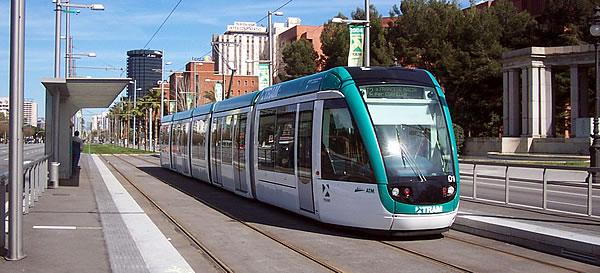 La rete dei Trambaix di Barcellona